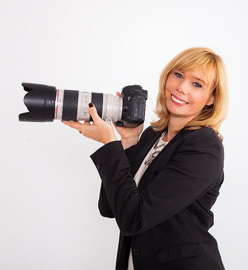 Fotografin Gabi Förster
